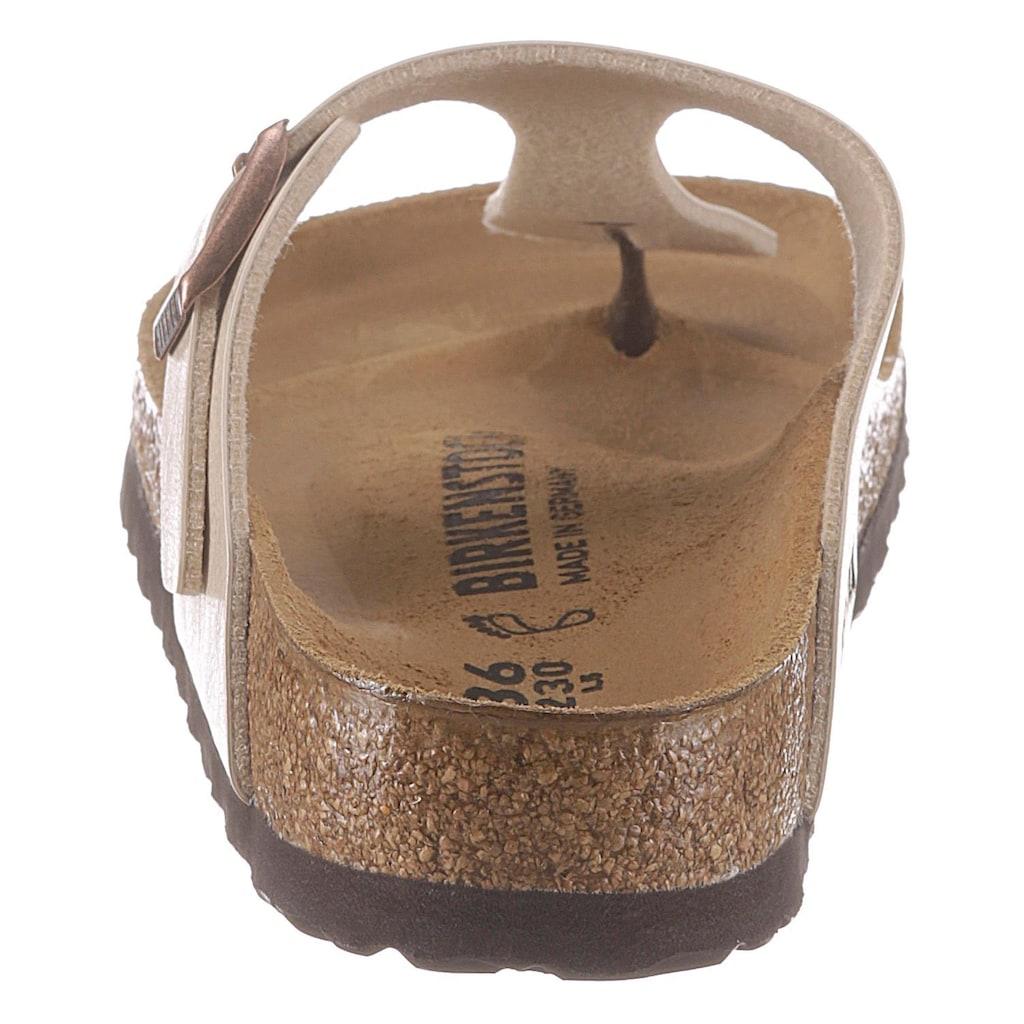 Birkenstock Zehentrenner »GIZEH«, mit ergonomisch geformter Innensohle