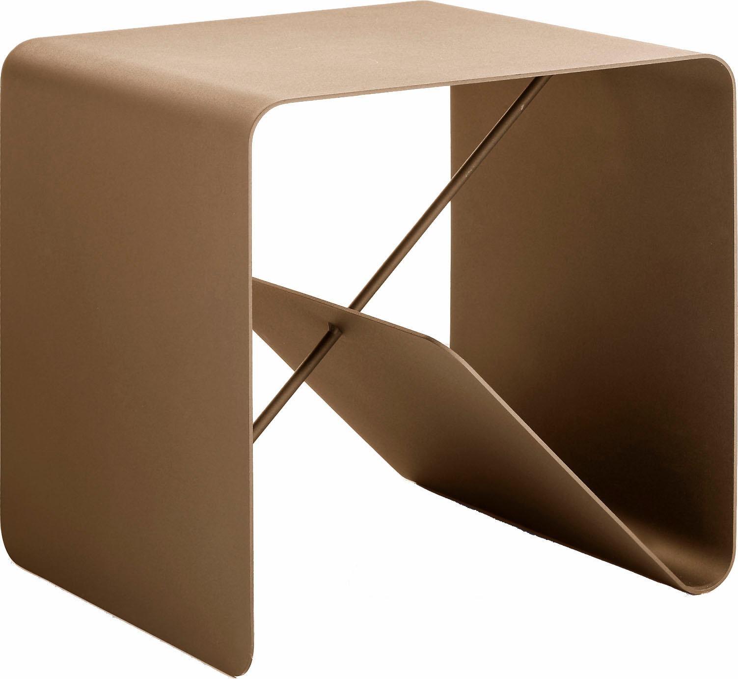 hülsta Beistelltisch MULTI - VARIS 01, aus Metall, Höhe 42,5 cm rosa Beistelltische Tische