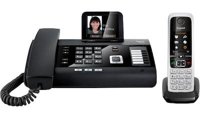 Gigaset Festnetztelefon »DL500A + Mobilteil C430HX«, (Mobilteile: 6) kaufen