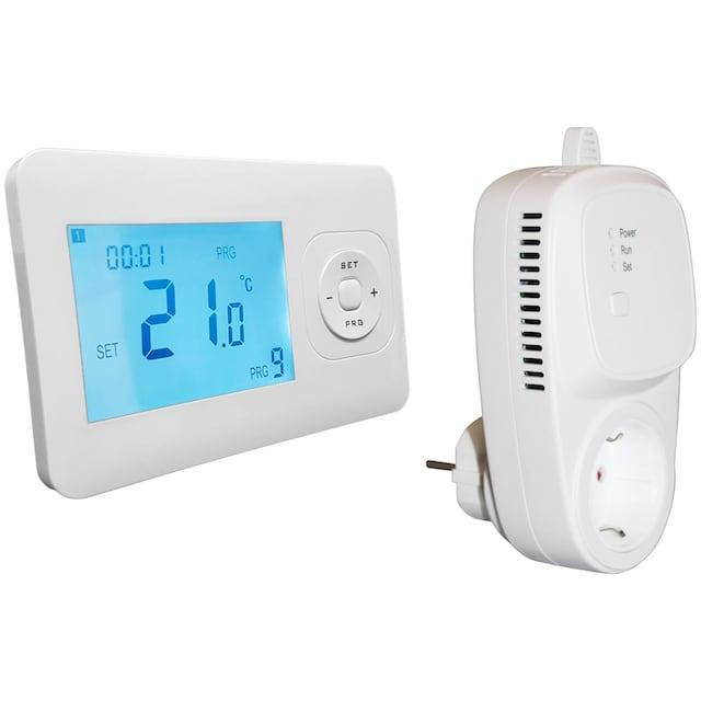 RÖMER Infrarot Heizsysteme Thermostat mit Wochenprogramm, inkl. Empfänger