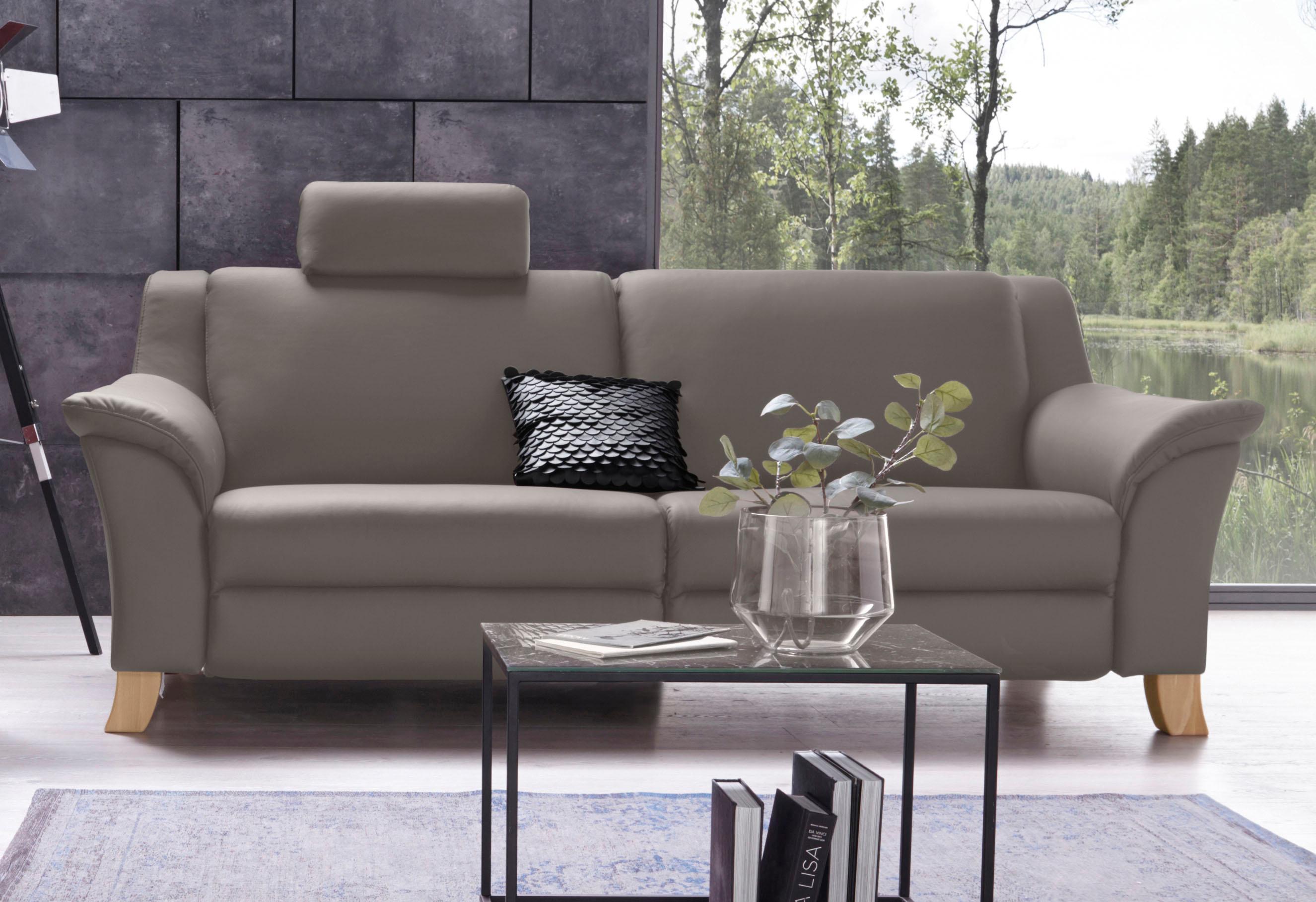 Places of Style 3-Sitzer »Kama« in vielfältigen Farben und Ausführungen | Wohnzimmer > Sofas & Couches > 2 & 3 Sitzer Sofas | Microfaser | PLACES OF STYLE