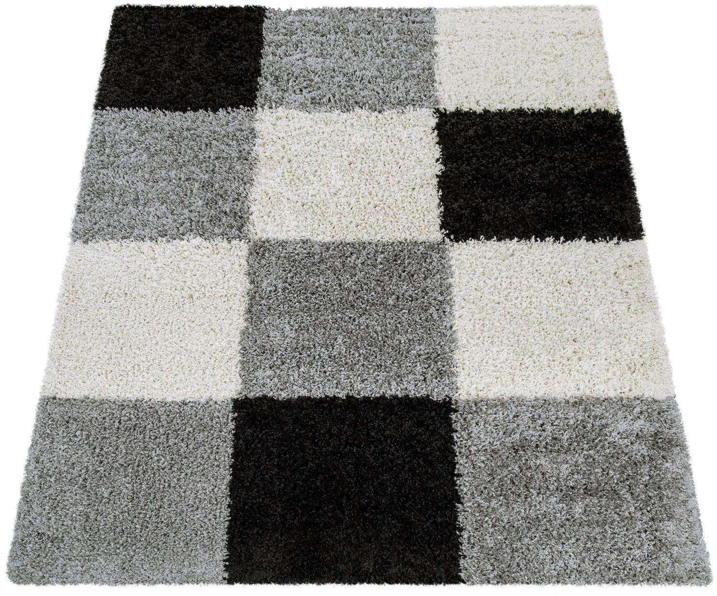 Hochflor-Teppich Mango 316 Paco Home rechteckig Höhe 35 mm maschinell gewebt