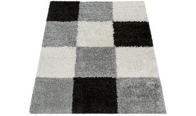 Paco Home Hochflor-Teppich »Mango 316«, rechteckig, 35 mm Höhe, Moderner Hochflor... kaufen