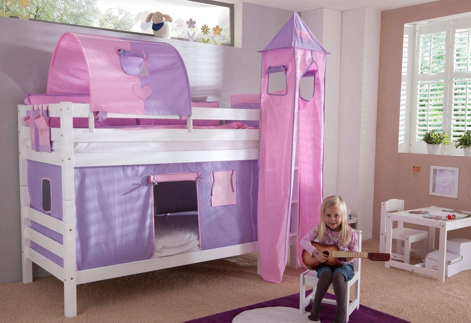 Etagenbett Set : Gruen buche massiv etagenbetten online kaufen möbel suchmaschine
