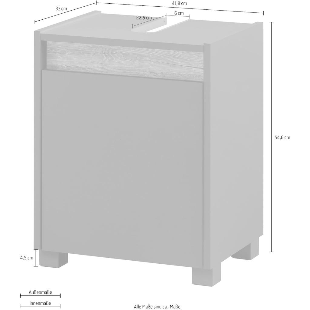 Schildmeyer Waschbeckenunterschrank »Cosmo«, Breite 42 cm