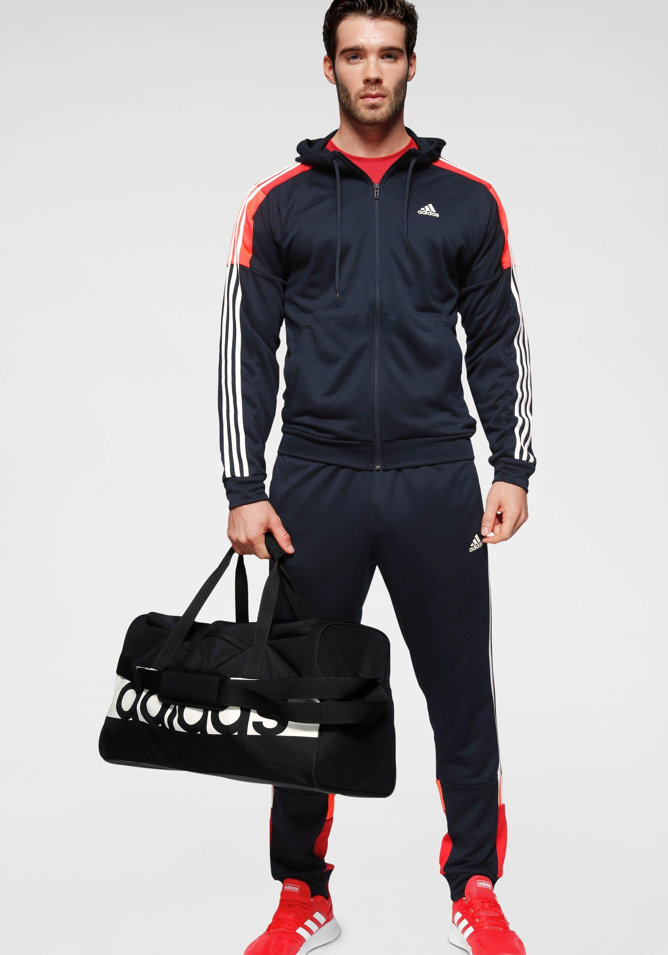 adidas Performance Trainingsanzug »M TRACKSUIT SPORTS« (Set, 2 tlg.)