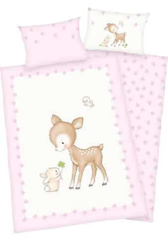 Baby Best Babybettwäsche »Kleines Reh«, mit niedlichem Motiv kaufen