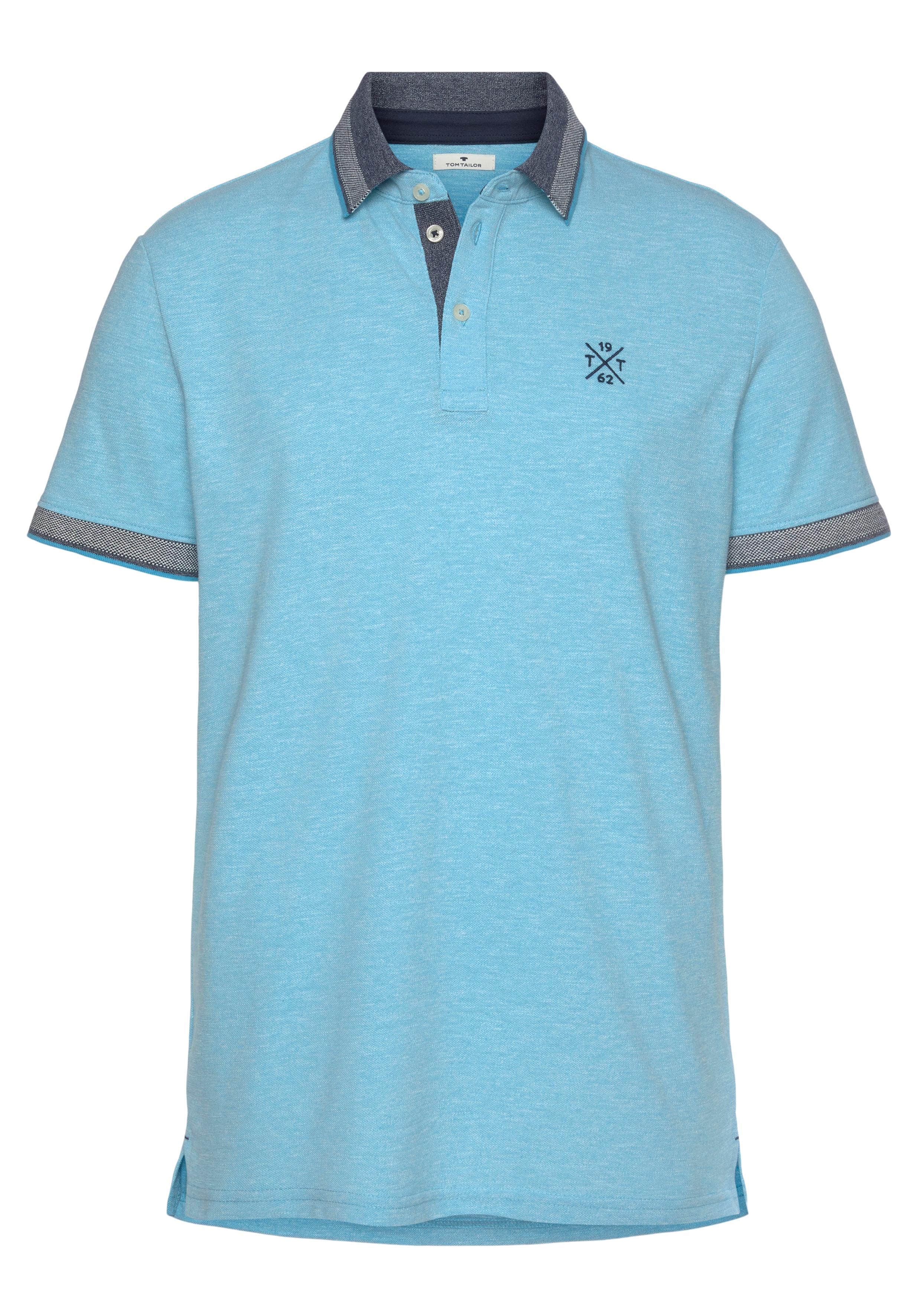 tom tailor -  Poloshirt, mit Logostickerei