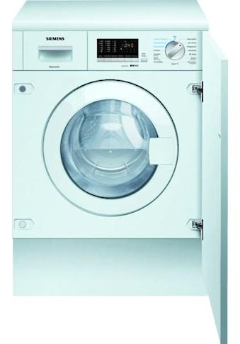 SIEMENS Einbauwaschtrockner iQ500 WK14D542, 7 kg / 4 kg, 1400 U/Min kaufen