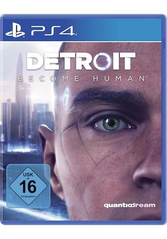 PlayStation 4 Spiel »Detroit Become Human«, PlayStation 4 kaufen