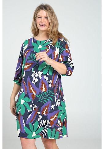 Paprika Druckkleid »Rundhals geblümt«, bequem zu tragen kaufen