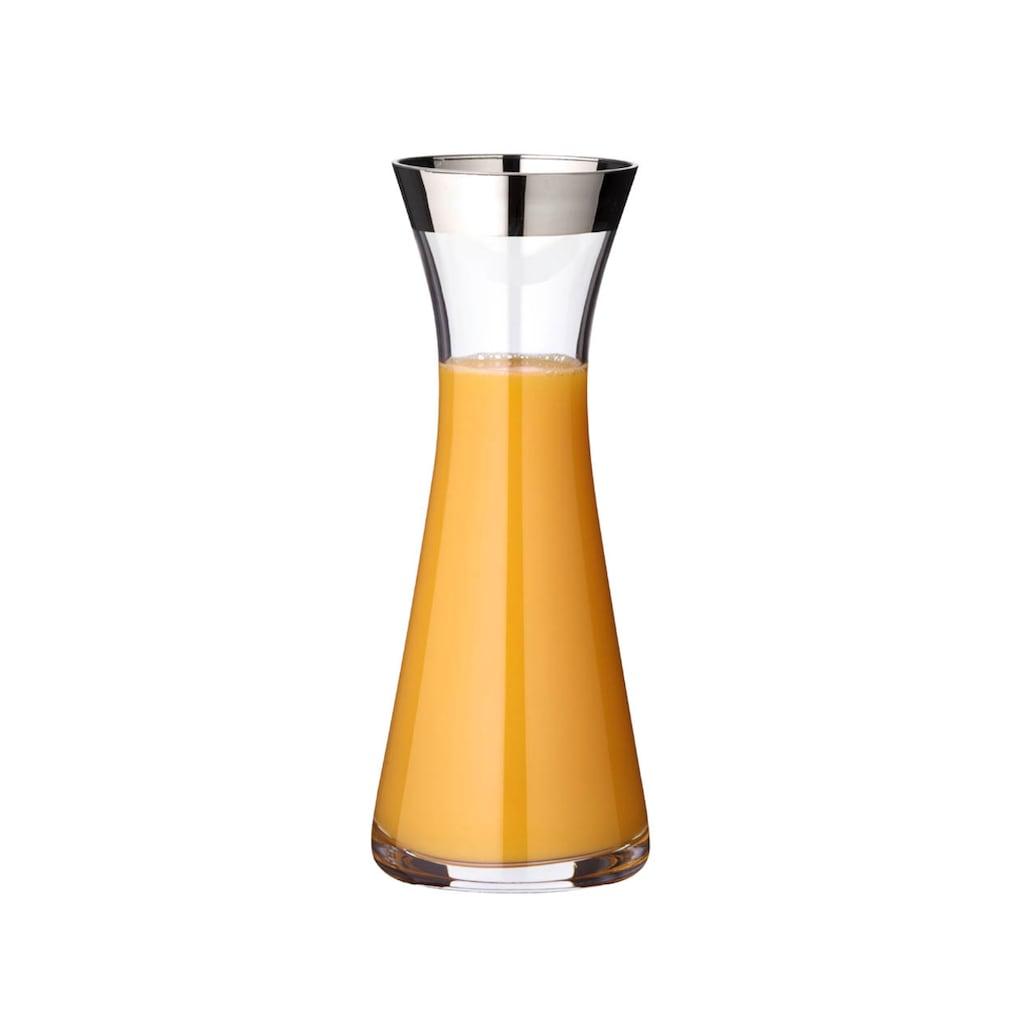 EDZARD Karaffe »Hendrik«, 0,8 l, (1), Glaskrug, Glaskaraffe - Wasserkrug, Wasserkaraffe und Saftkrug - Weinkaraffe