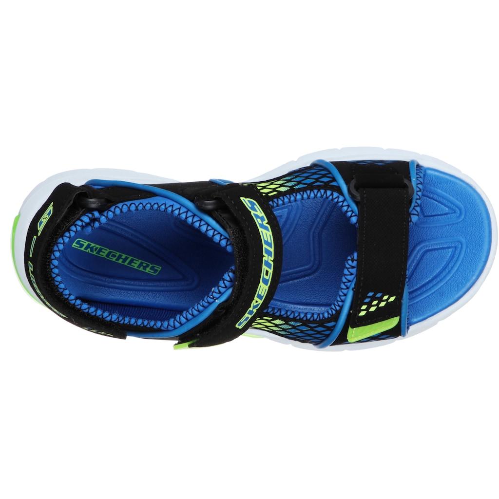 Skechers Kids Sandale »E-II SANDAL«, mit drei Klettverschlüssen