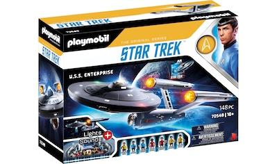 Playmobil® Konstruktions-Spielset »Star Trek - U.S.S. Enterprise NCC-1701«, (148 St.),... kaufen