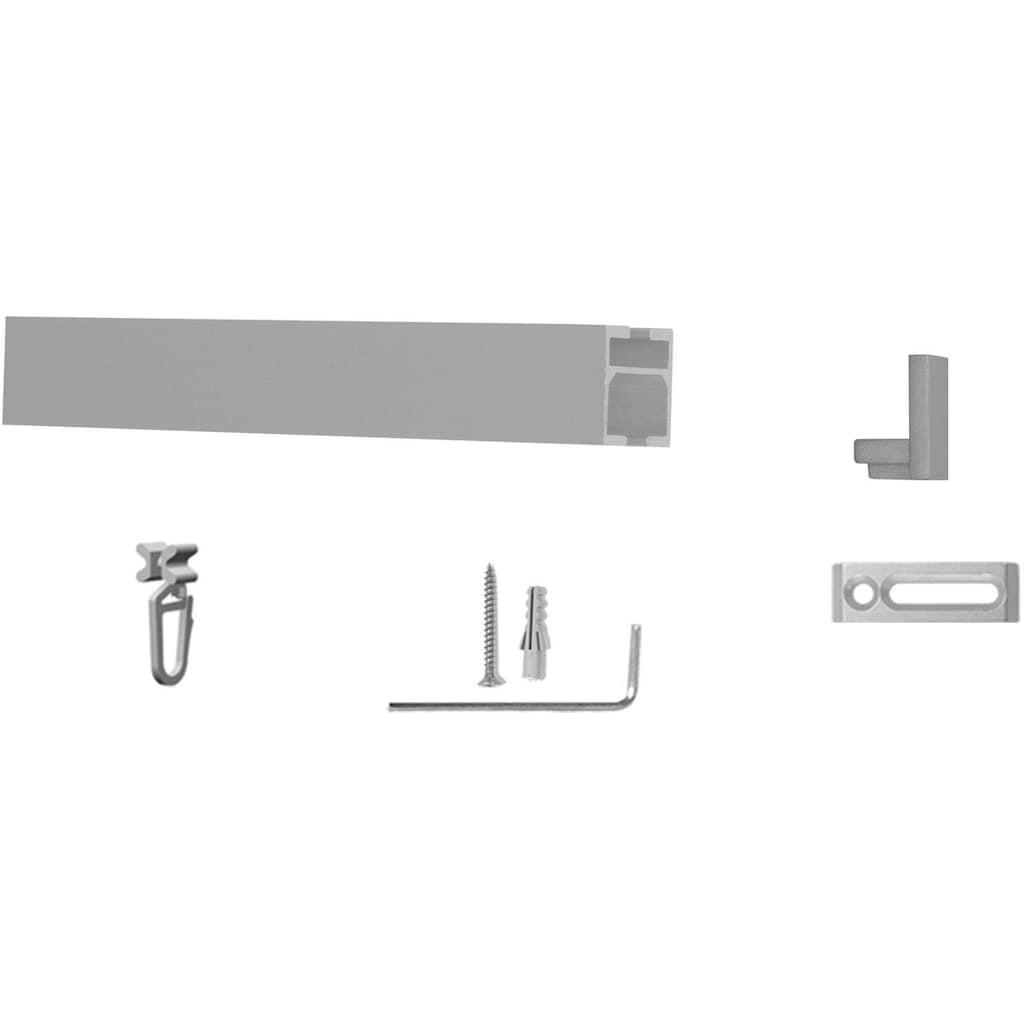 indeko Innenlaufschiene »Colmar«, 1 läufig-läufig, Wunschmaßlänge
