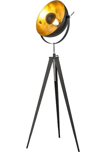 Leonique Stehlampe »Elenoire«, E27, Stehleuchte in Retro Optik, Höhe von 148 bis 168... kaufen