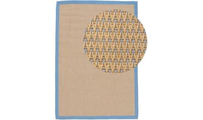 carpetfine Teppich »Sisal Sofia«, rechteckig, 5 mm Höhe, Wendeteppich aus 100% Jute,... kaufen