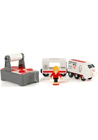 BRIO® Spielzeug-Eisenbahn »BRIO® WORLD IR Express Reisezug«, mit Licht und... kaufen