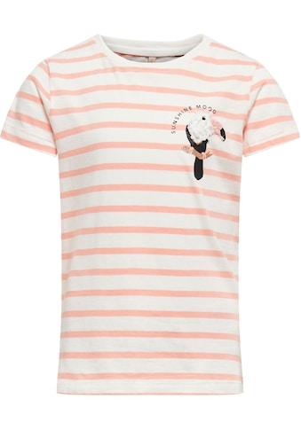 KIDS ONLY T-Shirt »KONKITA«, mit kleinem Vogel kaufen