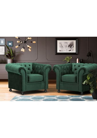 Home affaire Sessel »Chesterfield Home« kaufen