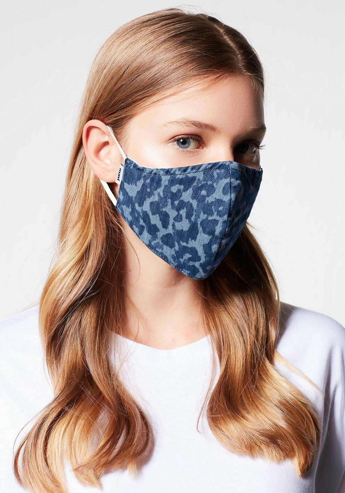Mavi Mund-Nasen-Maske Maske laser leo