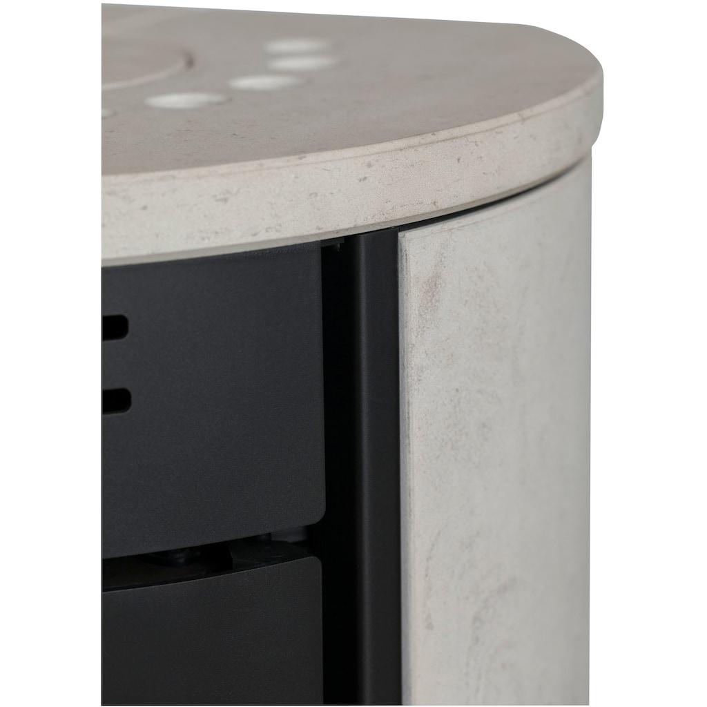 ADURO Kaminofen »Aduro 1.1 SK«, Kalkstein, 6 kW, Vermiculite