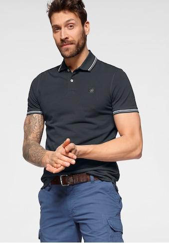 bugatti Poloshirt, mit Kontraststreifen kaufen