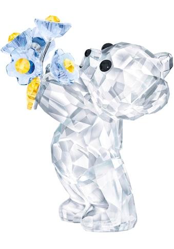 Swarovski Dekofigur »Kris Bär – Vergissmeinnicht, 5427993«, Swarovski® Kristall kaufen