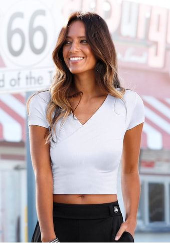 Buffalo Strandshirt, mit Wickeloptik kaufen