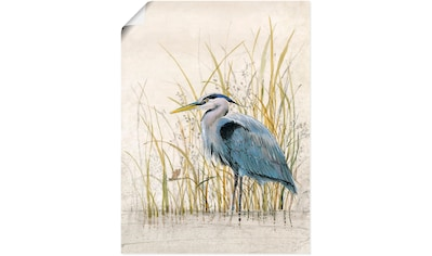 Artland Wandbild »Reiherschutzgebiet II« kaufen