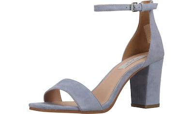 Steven New York High-Heel-Sandalette »Veloursleder« kaufen