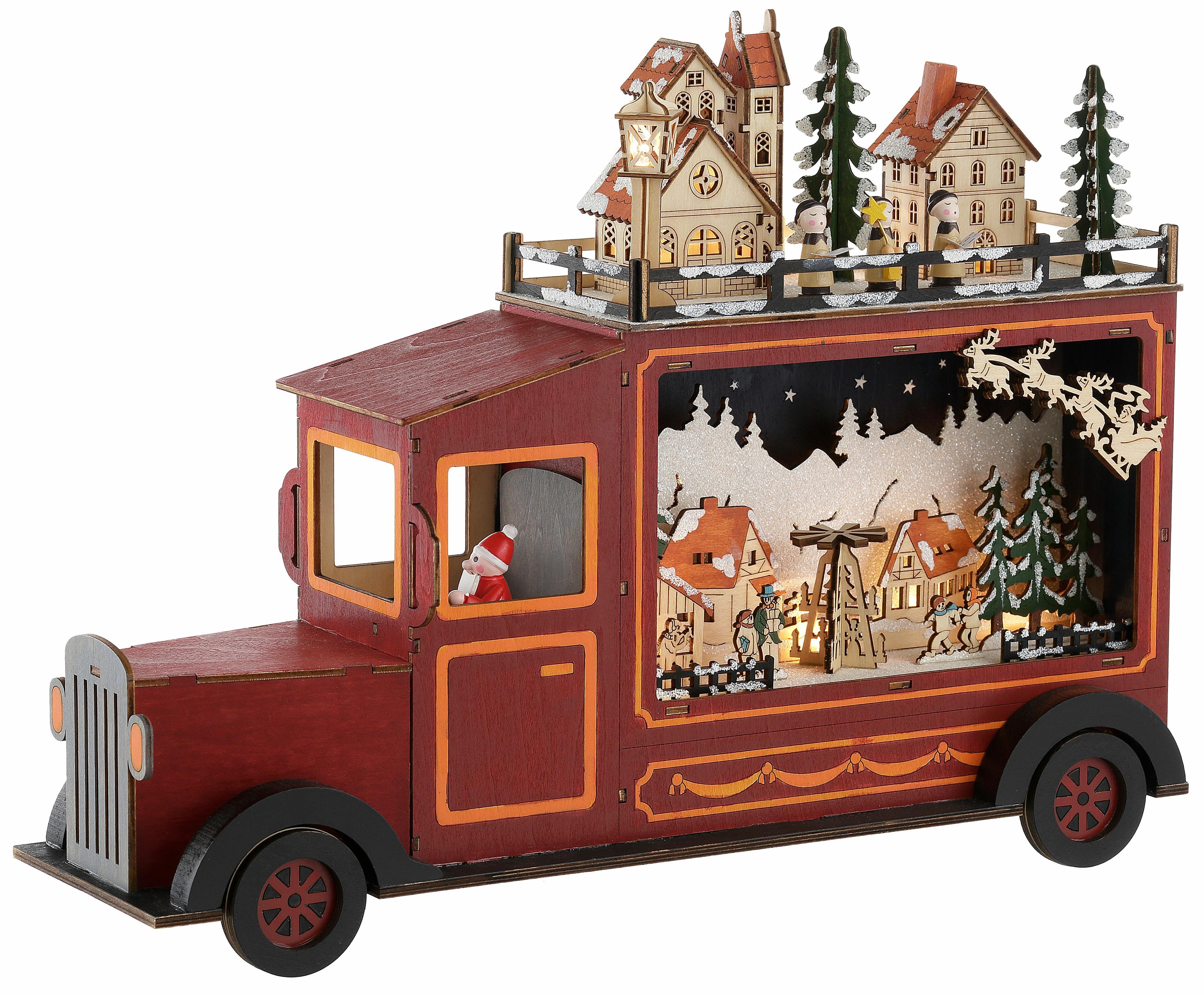 weihnachtsfigur santa truck online bestellen baur. Black Bedroom Furniture Sets. Home Design Ideas