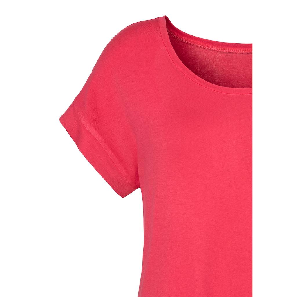 Vivance T-Shirt, mit elastischem Saumabschluss