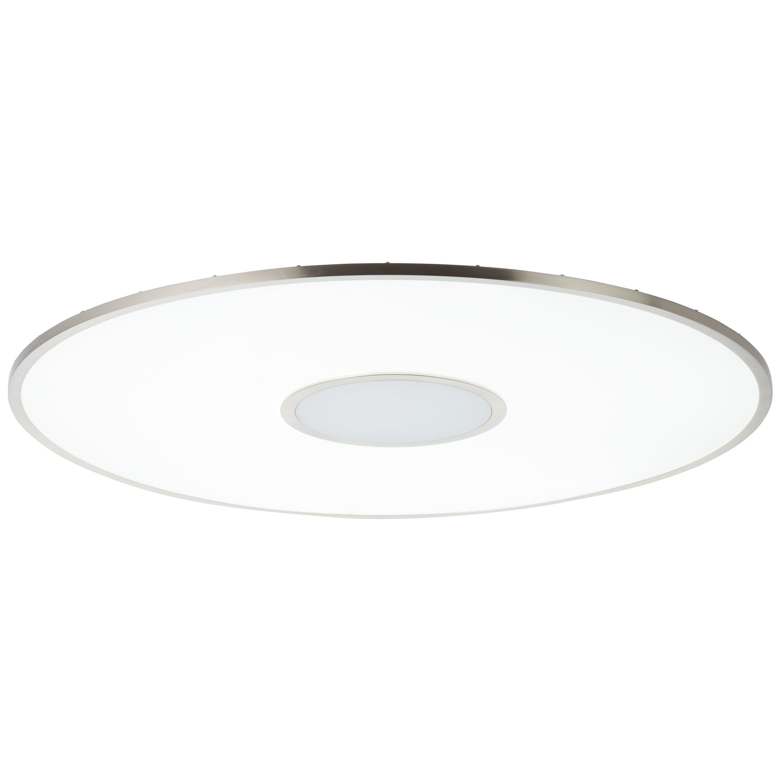 AEG Carmina LED Deckenaufbau-Paneel 75cm RGB nickel matt