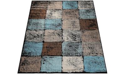 Teppich, »Metro 155«, Paco Home, rechteckig, Höhe 13 mm, maschinell gewebt kaufen