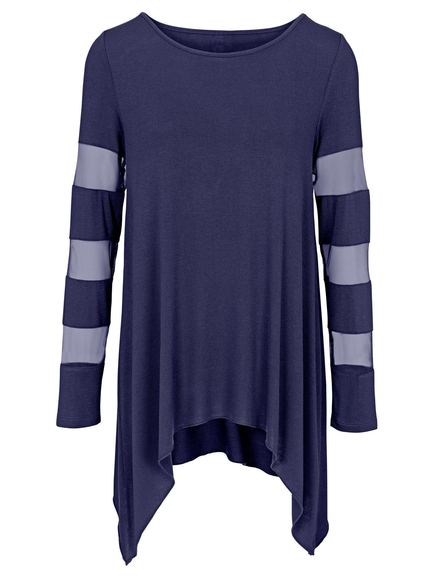 rick cardona by heine - Shirt mit eingesetzten Ärmel
