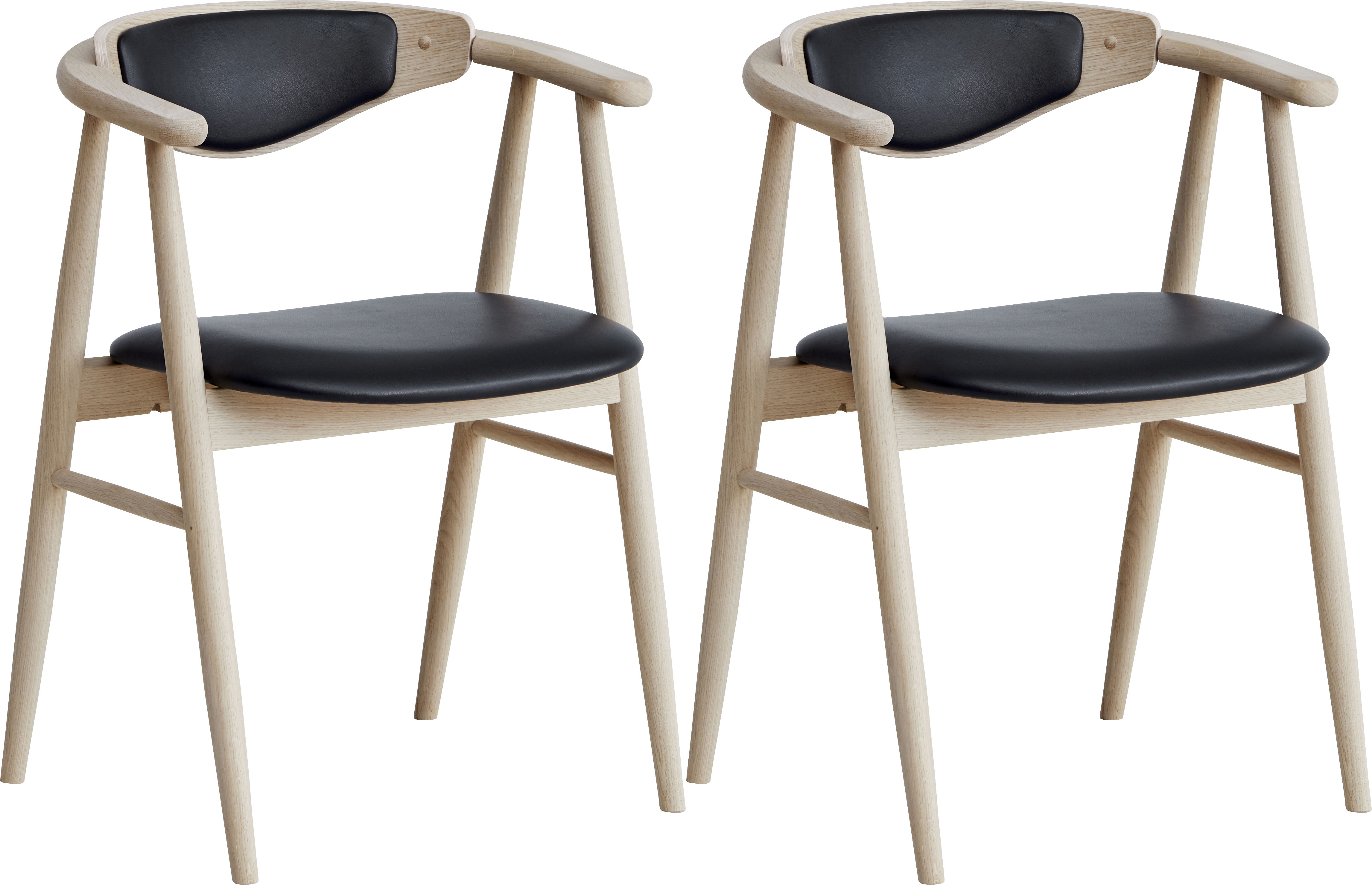 hammel Holzstuhl Findahl beige Holzstühle Stühle Sitzbänke