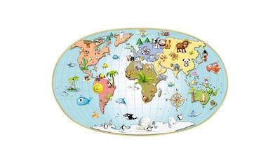 Wall-Art Wandtattoo »3D Kinder Weltkarte Lernhilfe« kaufen