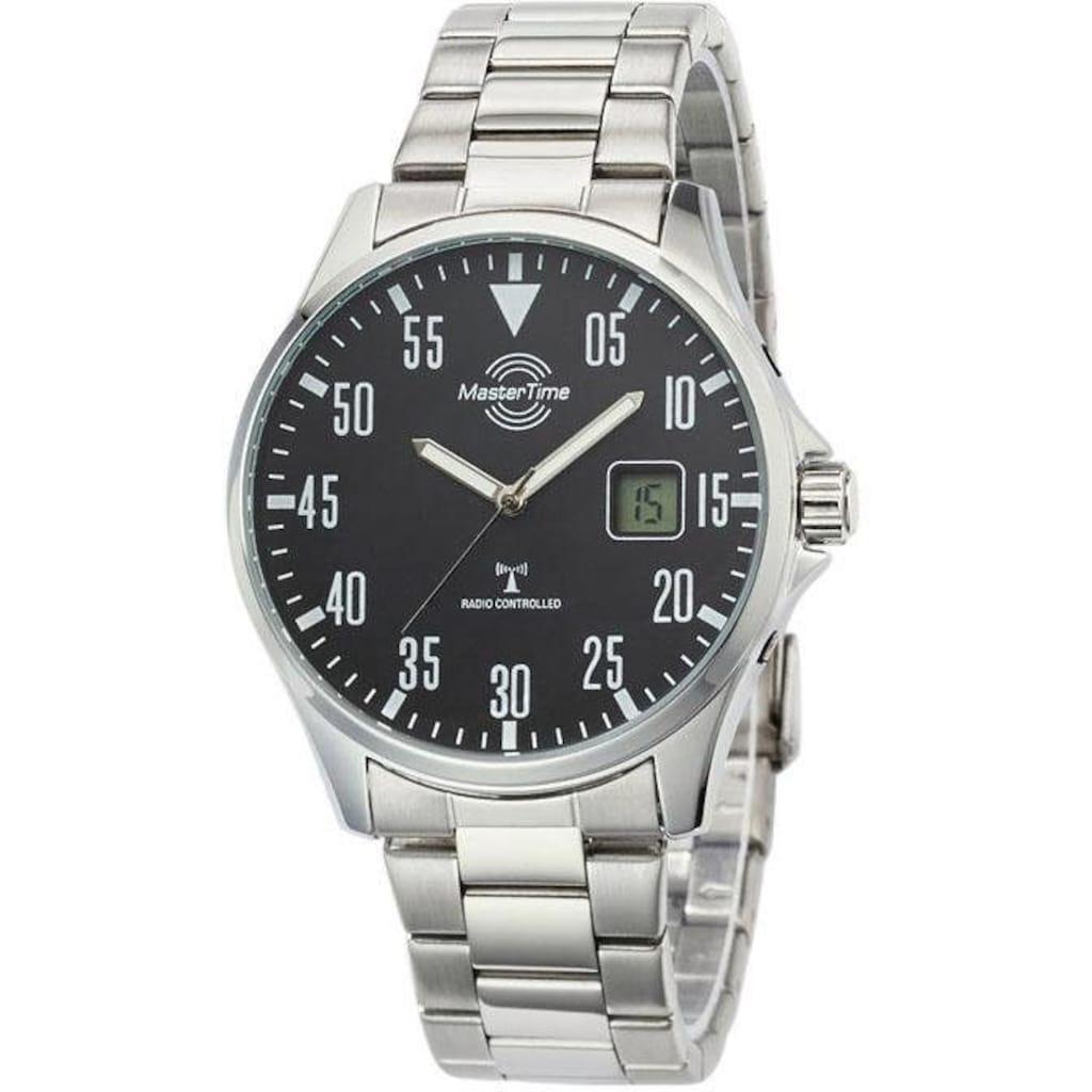 MASTER TIME Funkuhr »MTGA-10687-11M«