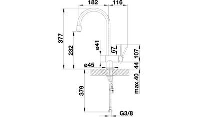Blanco Küchenarmatur »FILO-S«, Hochdruck, mit ausziehbarem Auslauf kaufen