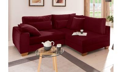 Home affaire Ecksofa »Helena Luxus«, mit besonders hochwertiger Polsterung für bis zu... kaufen