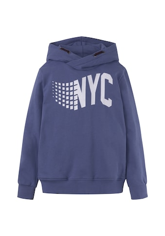 TOM TAILOR Sweatshirt »Hoodie mit New York Print« kaufen