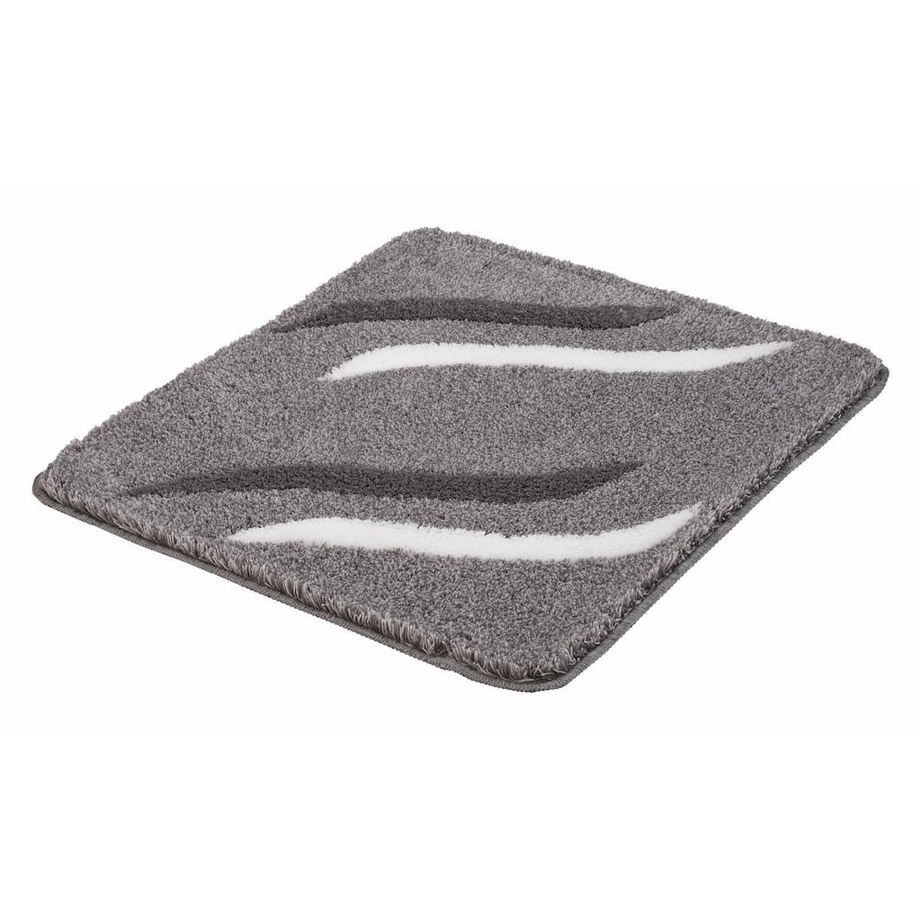Kleine Wolke Badematte »Florenz«, Höhe 18 mm, rutschhemmend beschichtet, fußbodenheizungsgeeignet
