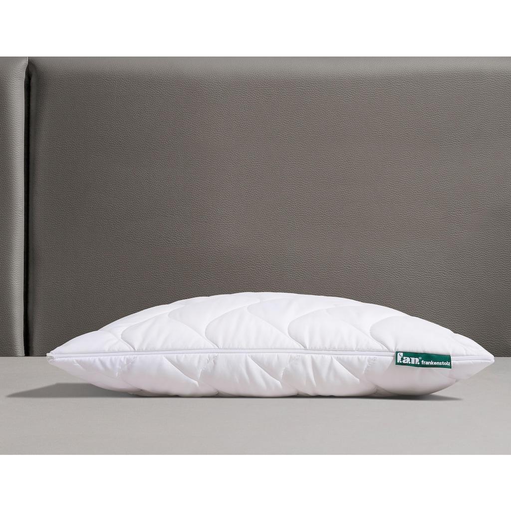 fan Schlafkomfort Exklusiv Microfaserkissen »Hollofil Active m. MF-Bezug«, (1 St.), volles Temperatur- und Feuchtigkeitsmanagement