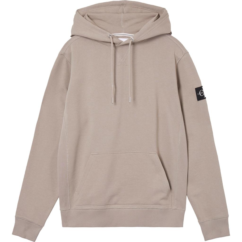Calvin Klein Jeans Kapuzensweatshirt »MONOGRAM SLEEVE BADGE HOODIE«