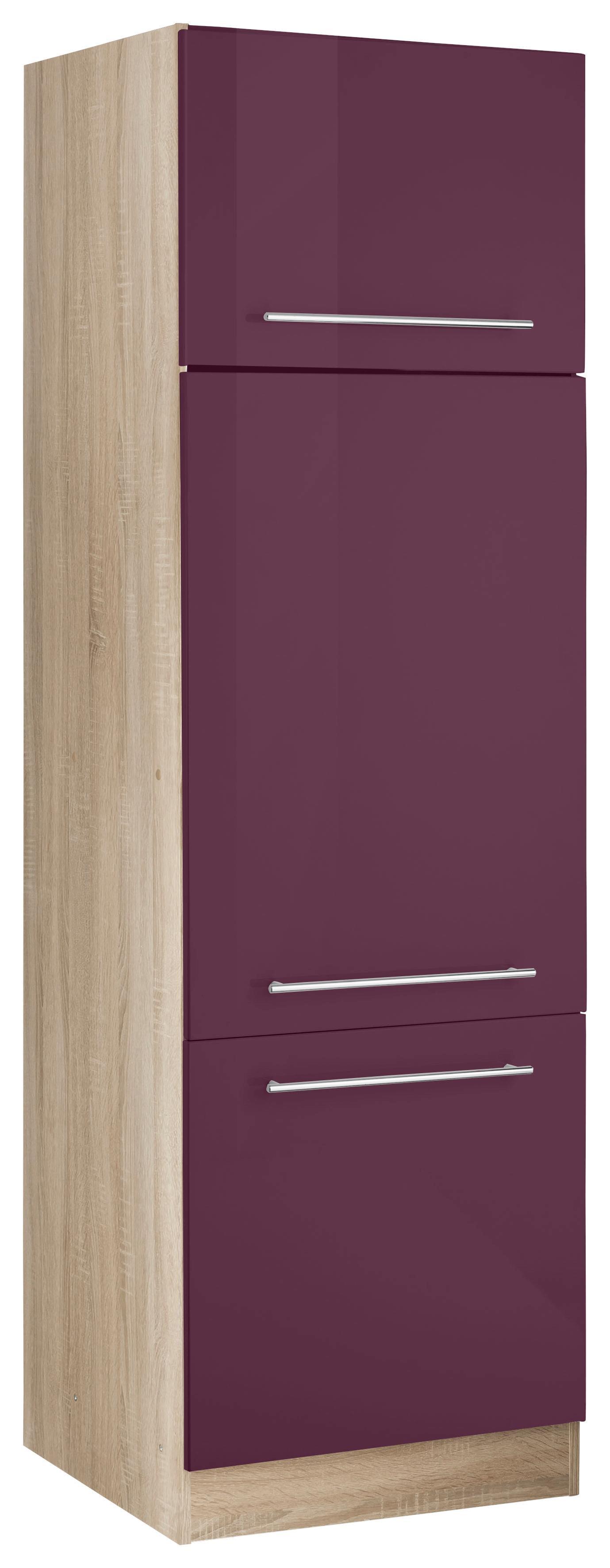 HELD MÖBEL Kühlumbauschrank Eton   Küche und Esszimmer > Küchenschränke > Umbauschränke   Lila   Milchglas - Melamin   Held Möbel