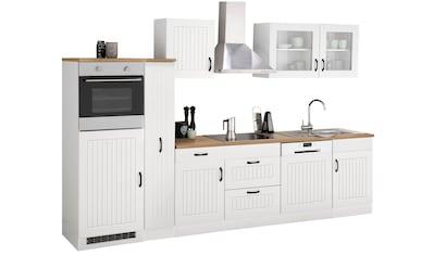 HELD MÖBEL Küchenzeile »Athen«, mit E-Geräten, Breite 310 cm kaufen