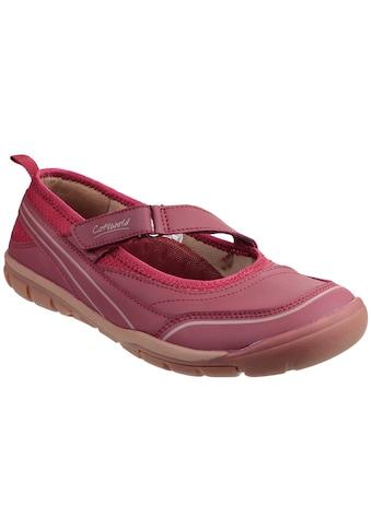 Cotswold T - Strap Pumps »Damen Appleton Mary - Jane - Schuhe mit Klettverschluss« kaufen