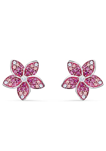 Swarovski Paar Ohrstecker »Tropical Flower Ohrringe, rosa, rhodiniert, 5519254« kaufen