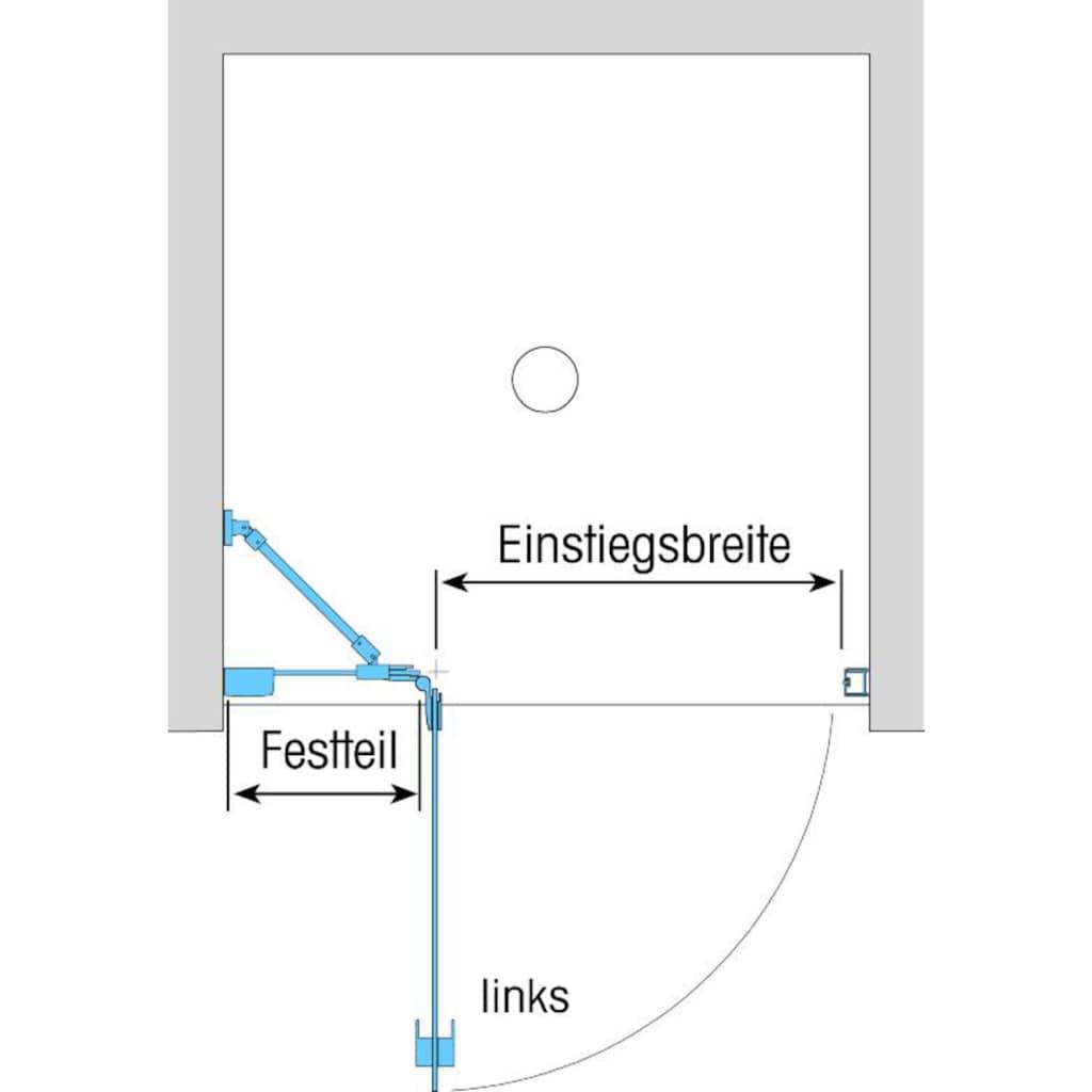 Dusbad Drehtür »Vital 1«, Anschlag rechts, 102,5cm